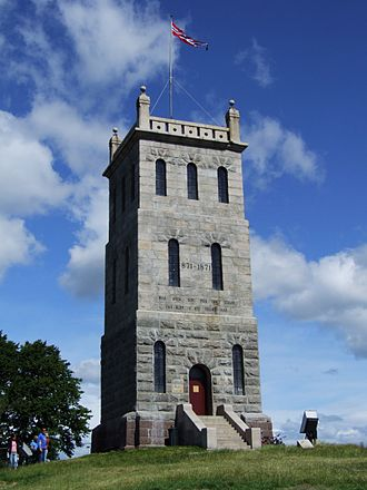 Tønsberg Fortress - Slottsfjellet