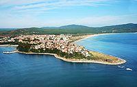 Town of Primorsko aerial Boby Dimitrov.jpg