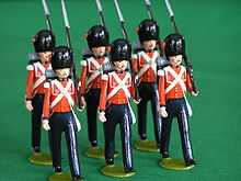 Victorian Toy Soldiers http://en.wikipedia.org/wiki/Toy_soldier