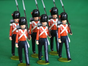 54mm Toy Soldiers representing the British Col...