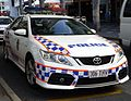 Toyota Aurion 306THV Queensland Police (TOYOTA CAMRY (cropped)).JPG