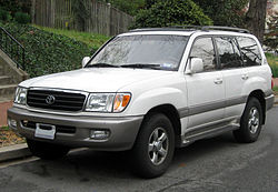 1998-2002 Toyota Land Cruiser UZJ100 (US)