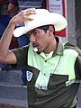 Traffic Cop - En Route to Zunil - Quetzaltenango - Guatemala (15363866633).jpg