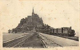 Image illustrative de l'article Ligne de Pontorson au Mont-Saint-Michel