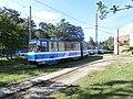 Tram 111 in Kopli Depot in Tallinn 24 August 2013.JPG