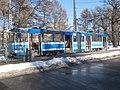 Tram 138 at Kopli Stop Kopli Tallinn 1 March 2016.jpg