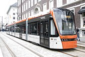 A Bybanen light rail Variotram, Bergen.