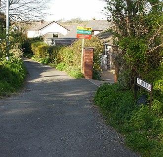 Caerleon Tramroad - Tram Lane, Caerleon