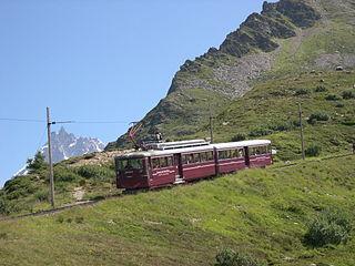 Mont Blanc tramway