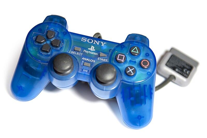 File:Trasparent Blue DualShock.jpg