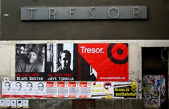 Tresor (club) - Facade of the Tresor in 2004