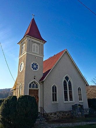 Paris, Virginia - Trinity United Methodist Church