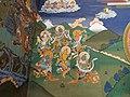 Trongsa - Dzong, Wandmalereien.JPG