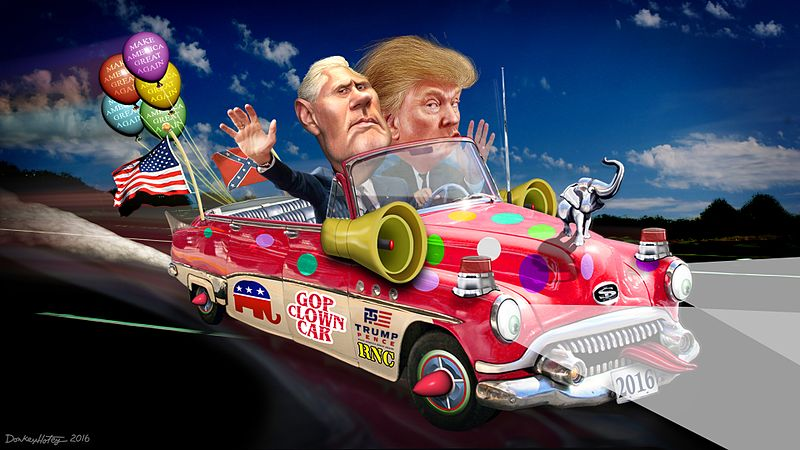 File:Trump-Pence Clown Car 2016.jpg