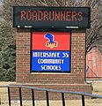 Truro Iowa 20090315 School Sign.JPG