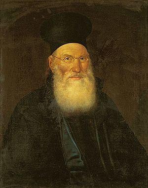 Theoklitos Farmakidis - Theoklitos Farmakidis Portrait by Dionysios Tsokos
