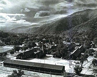 Sunland-Tujunga, Los Angeles - Detention station, 1941