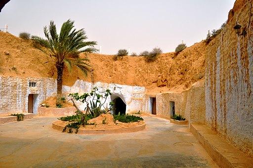 Tunisia matmata pacio