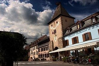 Turckheim - Entrance to Turckheim through the Porte de France