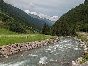 Ischgl - Image: Tussen Ischgl en Kappl, rivier de Ischgl foto 6 2014 07 23 14.52