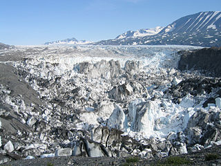 glacier in the United States