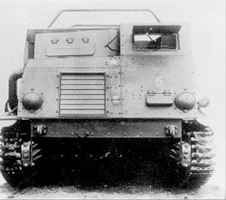 Type 1 Ho-Ki - Front view of the Type 1 Ho-Ki