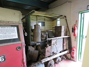 Victor Electrics - The only extant Victor milk float is awaiting restoration at the Wythall Transport Museum