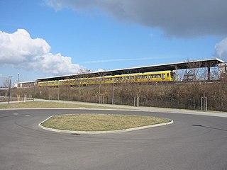 U5 (Berlin U-Bahn) rapid transit line in Berlin, Germany