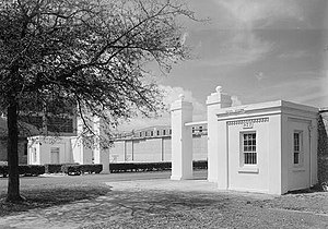 Pensacola Naval Air Station Historic District - Gatehouses and Gates