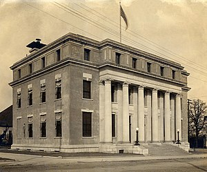 Federal Building and United States Courthouse (Dothan, Alabama) - Image: U.S. Post Office and Court House, Dothan, AL