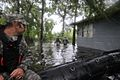 U.S. Soldiers with Support Company, 2nd Battalion, 20th Special Forces Group, Mississippi Army National Guard search through flooded areas in Moss Point, Miss., Aug. 31, 2012, for stranded residents following 120831-A-MX357-004.jpg