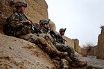 U.S. and Coalition Forces Mentor Afghan National Army in Dismount Patrol DVIDS251817.jpg