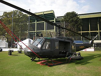 Argentine Army Aviation - Bell UH-1H Huey during the Exhibition of the Argentine Army in May 2008
