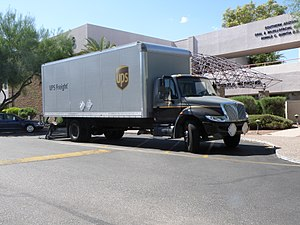 Navistar International - DuraStar Box (van body) truck
