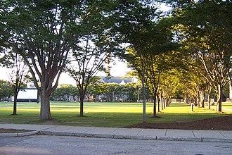 University of Rhode Island - Quadrangle on an early September evening at University of Rhode Island.