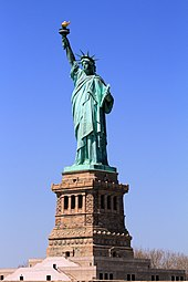 170px USA NYC Statue Of Liberty