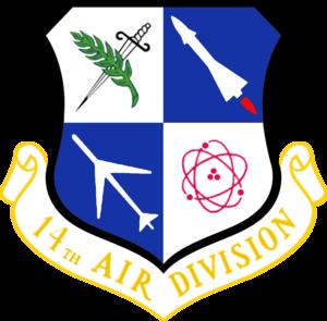 14th Air Division - Image: USAF 14th Air Division