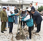USAID supports tree planting in Nam Dinh Province (33189933411).jpg