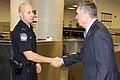 USCBP Commissioner Kerlikowske visits CBP workers at JFK International Airport on Christmas Day (15517375033).jpg