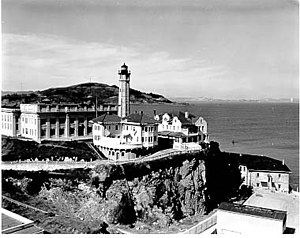 Alcatraz Island Light - Alcatraz Lighthouse, 1909, U.S. Coast Guard Archive