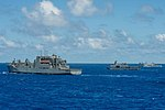 USNS Brashear, BRP del Sur, KRI Makassar and USS Erie at RIMPAC 2018.jpg