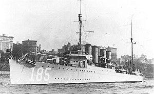 USSBagleyDD185