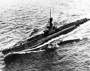 Aspro (SS-309) underway