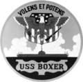 USS Boxer (LPH-4) insignia, in 1959 (NH 64827-KN).png