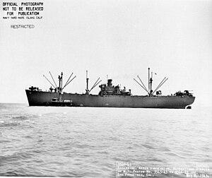 USS Eridanus (AK-92) - Image: USS Eridanus (AK 92)