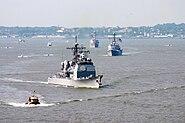 USS San Jacinto (CG-56) Parade of Ships