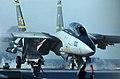 US Navy 041020-N-4308O-049 An F-14B Tomcat launches off of the flight deck aboard the Nimitz-class aircraft carrier USS Harry S. Truman (CVN 75).jpg
