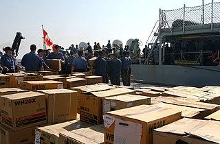 Canadian response to Hurricane Katrina