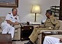 US Navy 090820-N-8273J-121 Chief of Naval Operations (CNO) Adm. Gary Roughead meets with Pakistan Joint Chief of Staff Committee Gen. Tariq Majid during an office call at the Pakistan Joint Staff Headquarters in Islamabad.jpg
