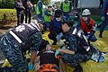 US Navy 100909-N-9023M-079 Emergency Response Team members from U.S. Naval Hospital Yokosuka assess a simulated patient.jpg